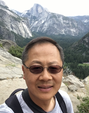 Tseming Yang in Yosemite 2017