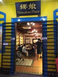 A Peranakan restaurant